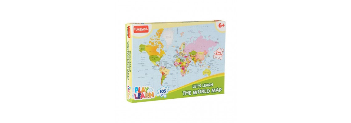 Let's Learn The World Map