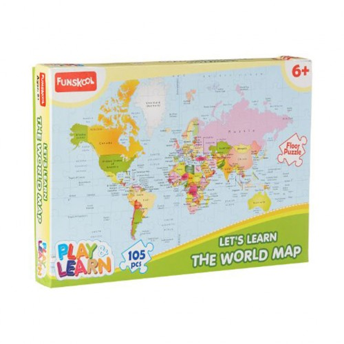 Let\'s Learn The World Map